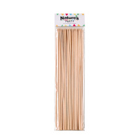 Satéprikker bamboe rond   H300mm