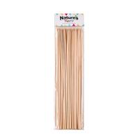 Satéprikker bamboe rond   H250mm