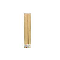 Platte bamboe prikker BBQ  9mm H250mm