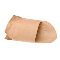 Zakje papier kraft met pe 143x100  143x93mm H100mm
