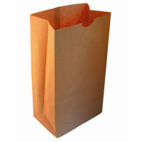 SOS tas groot van kraft papier  300x180mm H430mm
