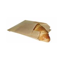 Papieren zak bruin  120x160mm H50mm