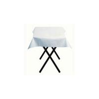 Papieren tafelkleed vierkant wit  700x700mm
