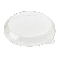 Clear plastic PET lid 0ml 80mm  H10mm