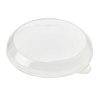 Transparant PET koepeldeksel  Ø72mm  H10mm
