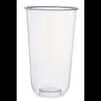 Transparent PLA Dessert cup 480ml 96mm  H156mm