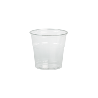 Plastic PET shaker transparant 390ml Ø95mm  H88mm