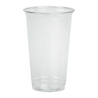 Plastic PET shaker transparant 590ml Ø92mm  H145mm