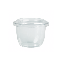 Dessert coupe plastic PET transparant 300ml Ø95mm  H65mm