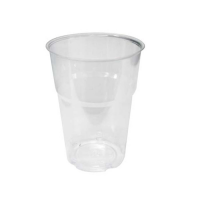 Kristal beker plastic PS 250ml Ø70mm  H99,5mm
