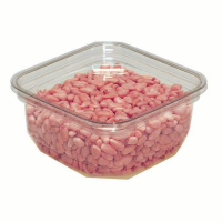 Deli pot vierkant PLA 250ml 60x40mm