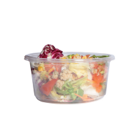 Deli pot rond PLA transparant 600ml Ø143mm  H55mm