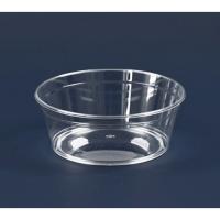 Koepel plastic PS kristal rond 225ml Ø104mm  H40mm