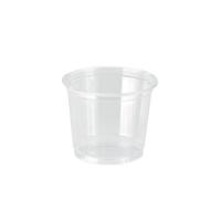 Plastic PET pot doorzichtig  150ml Ø74mm  H70mm