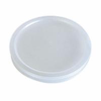 """""""Bodega"""" Clear PP plastic flat lid 0ml"""