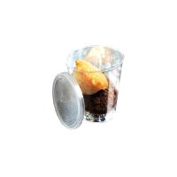 """Doorzichtige ronde plastic verrine """"Bodega"""" 50ml Ø47mm  H49mm"""