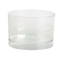 """Doorzichtige ronde plastic verrine """"Bodega"""" 60ml Ø40mm  H40mm"""