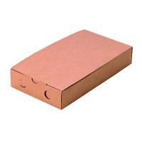 Doosje voor bruschetta van kraft karton  300x150mm H50mm
