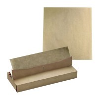 Kraft voeselpapier in dispenser box  350x270mm