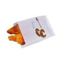 Papieren zak thema croissant  180x280mm H80mm