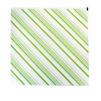Vetvrij wit voedselpapier met groen thema  310x320mm