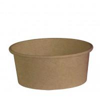 Saladeschaal 'Buckaty' van kraft karton 700ml Ø150mm  H60mm