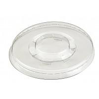 Clear PET plastic flat lid 0ml 78mm