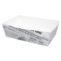 Newsprint multi-purpose cardboard container 850ml 150x90mm H50mm