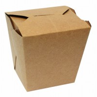 Kartonnen vierkante kraft doosje 750ml 102x90mm H103mm