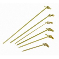 "Bamboe satéprikkers met knoop ""Noshi""   H105mm"