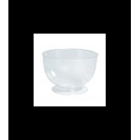 """Crystal"" transparent PS dish 0ml 260mm"