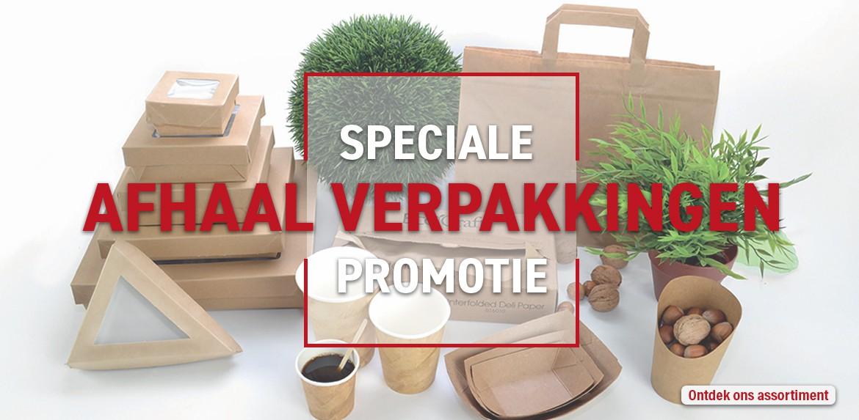 Speciale promotie voor meeneemverkoop